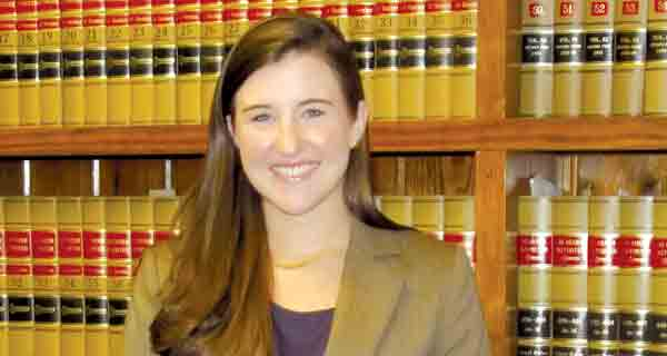 Kaitlyn Griffin Jones is the newest member of the team of attorneys at a local lawfirm.