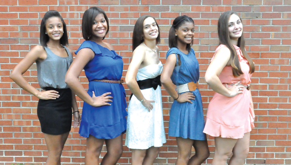 W.S. Neal's 2013 Homecoming court.