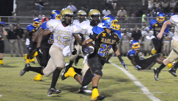 Quenton Samuels had a big night for W.S. Neal.