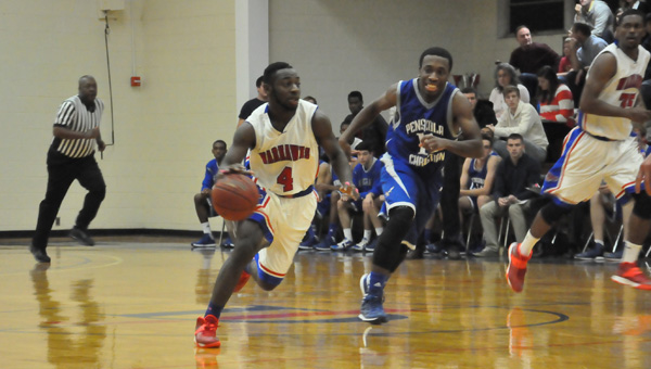 Chris Oden had 24 points for JDCC in their loss to PCC Tuesday night.