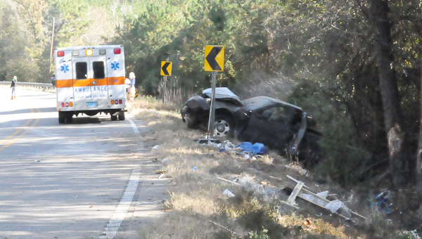 A wreck on U.S. 31 injured three people, one of whom was transported by LifeFlight.