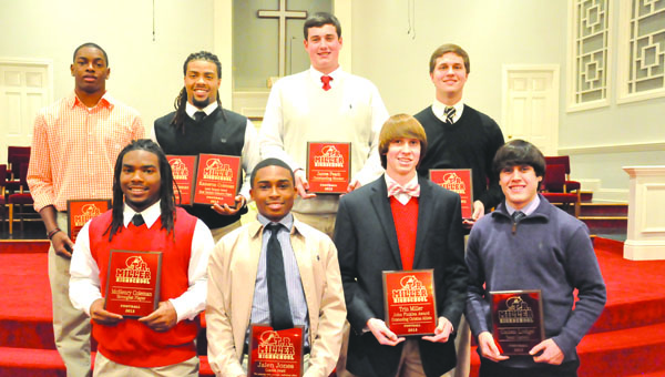 TRM football special awards