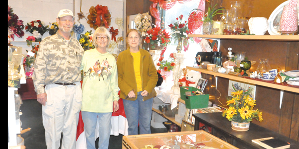 Staff at the East Brewton Variety Store.