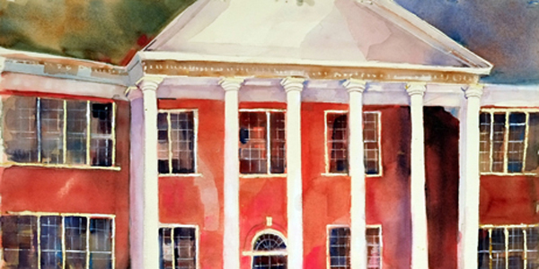 Louise Garrett's work features landmark locations around Brewton, as well as many other scenes.