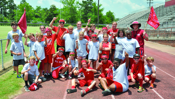 The Red Team won the annual Wild Tiger Relay