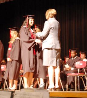 greco gets diploma