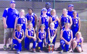 EB 10 U group picture with Trophy State Runner Up