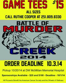 Murder Creek Flyer
