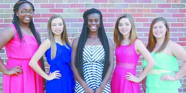 WSN homecoming court