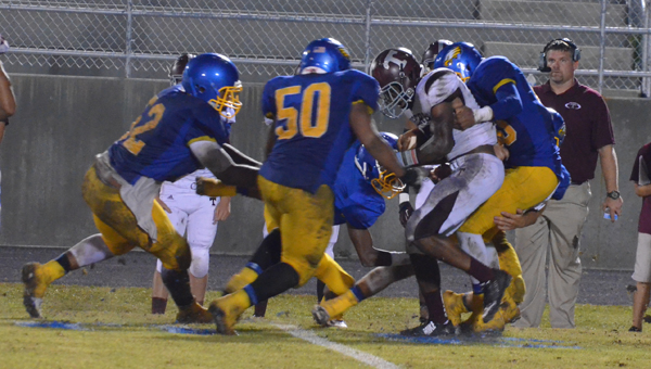 WSN's defense held Thomasville to 130 yards of total offense.