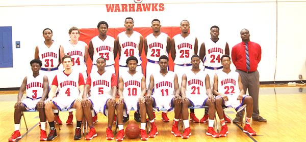 The 2015 JDCC Warhawk basketball team