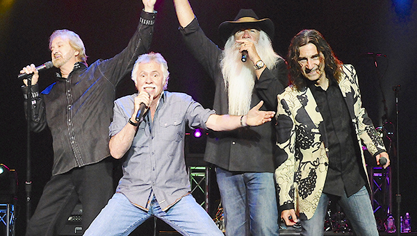 The Oak Ridge Boys will be inducted on Sunday into the Country Music Hall of Fame.
