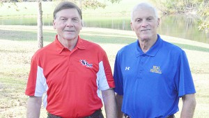 TRM's Mike Sasser and WSN's Bernie Wall were inducted in the Great American Rivalry Series HOF.