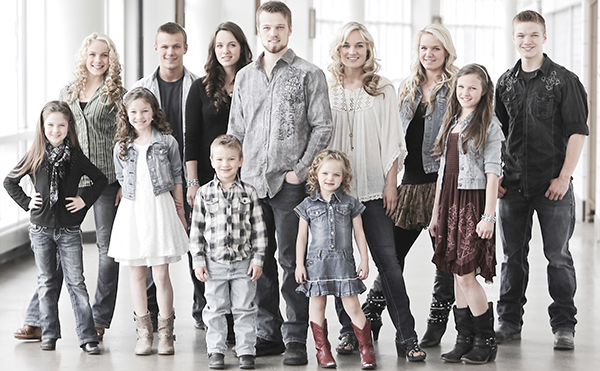 Courtesy photo Described as a modern day 'Von Trapp' family, the Willis Clan will arrive in Brewton on Nov. 12.