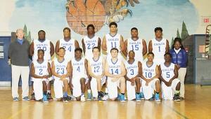 2015-2016 WSN Eagles basketball team