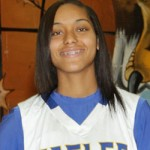 Bill Miller Photography Senior Keke Flloyd had a  total of 40 points and 17 rebounds for the tournament.