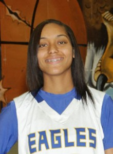 Bill Miller Photography Senior Keke Floyd led her team with 24 points, 4 rebounds and three steals.