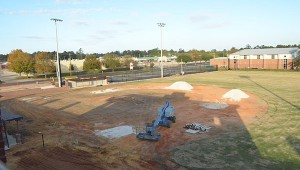 Corey Williams | The Brewton Standard View of infield and some of outfield.