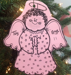 Stephanie Nelson | The Brewton Standard These angels are located on trees at Walmart.