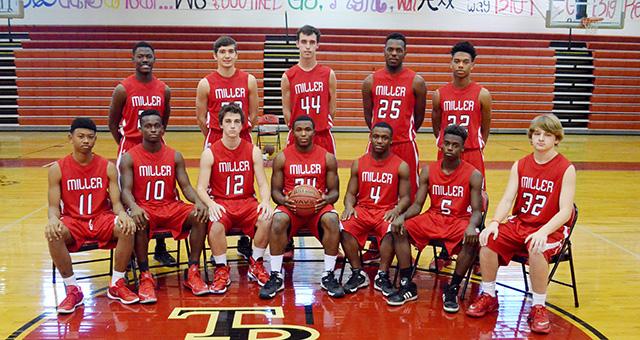 The 2015-16 TRM boys basketball team began its season Monday.
