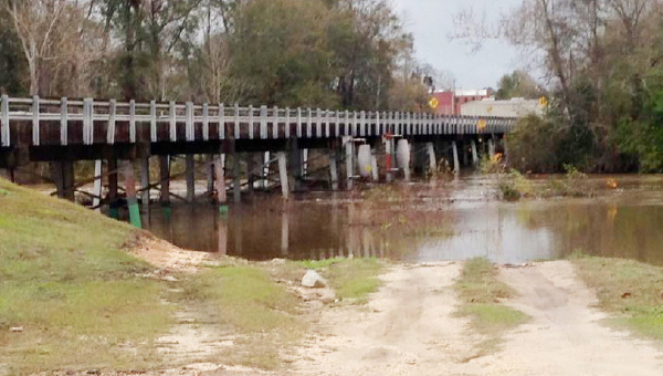 Stephanie Nelson | The Brewton Standard This Christmas Eve view of Murder Creek is a different one than today.