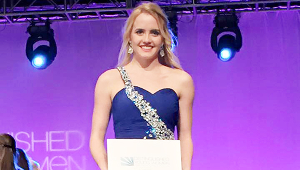 Courtesy photo Morgan Manning, a TRM senior and Escambia County DYW, earned a win in the interview category.