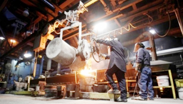 Courtesy photo In this industry photo, Grede employees work inside one of the company's facilities.