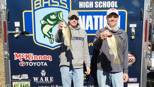 Courtesy photo Will Smith (left) and Tylan McDonald show off their catch.
