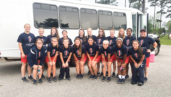 The JDCC softball team will travel to Alabaster for the state tournament this weekend. JDCC will face Snead State Friday at 10 a.m.