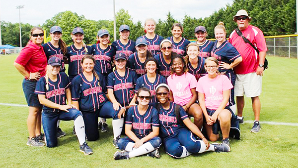 Courtesy photo JDCC softball at the state tournament in Alabaster.