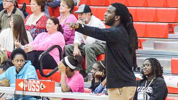 Coach Terrence Walker was  recently named the new TRM boy's varsity basketball coach.