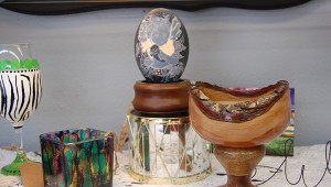 The Emu Egg is an original available at Keepers. The piece is handcrafted with three layers.