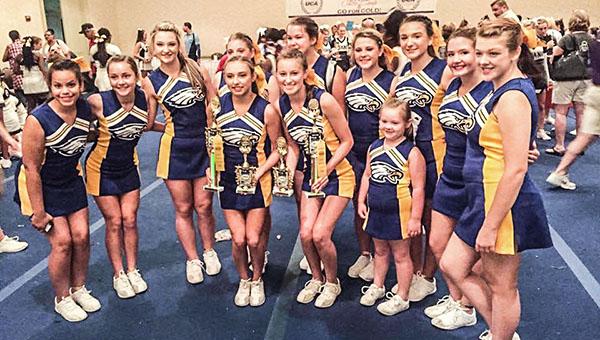 Courtesy photo WSN cheerleaders