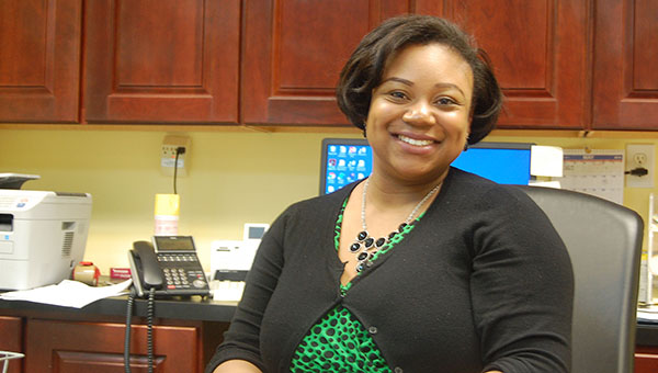 Lydia Grimes | The Brewton Standard Tanisha Thomas may not be new to Brewton, but she is the new director of the Brewton Housing Authority.