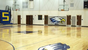 The new WSN gym is ready to host its first event.