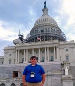 Courtesy photo John Braxton Rhodes has traveled the U.S. this summer.