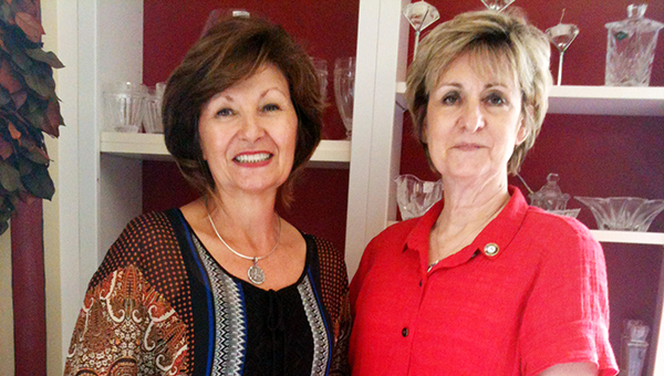 Lydia Grimes | The Brewton Standard Former Circles director Deborah Mariott poses with new director Anita Watson.