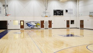 Corey Williams | The Brewton Standard Plans for  the renovation of the old gym is  to mirror the new gym built in the construction of the new high school.