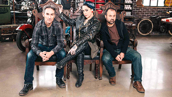 Courtesy photo Mike Wolfe and Frank Fritz of American Pickers will be shooting this winter in the lower region of Alabama.