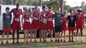 Courtesy photo The TRM boys cross country team placed second overall in 3A sectionals in Loxley Thursday.