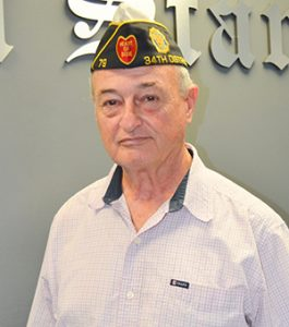 Stephanie Nelson | The Brewton Standard Joe Dozier attends all the programs having to do with the veterans of Escambia County.