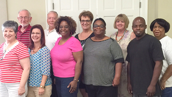 Courtesy photo Circles of Transformation, hosted at Brewton's First United Methodist Church, is searching for a new site director. Here, members and volunteers join to welcome the public to join them.