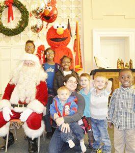 Stephanie Snodgrass | The Brewton Standard The Baynard, McCall and Samuel children pose with Santa.