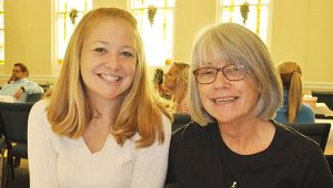 Stephanie Snodgrass | The Brewton Standard  Suzanne and Letty Digmon smile at the new life made possible by the Escambia County Drug Court process.