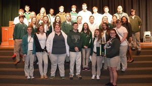 Students from Flomaton High School earned a second place finish at the tournament.