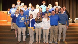 Students from W.S. Neal earned a fourth place finish at the tournament.