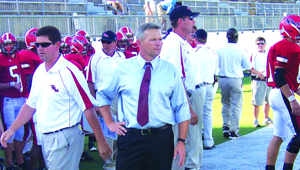 File photo Former Tiger head football coach Jamie Riggs was a recipient of the 2017 ALFCA Lifetime Achievement Award. Under his leadership, the Tigers won four state titles.