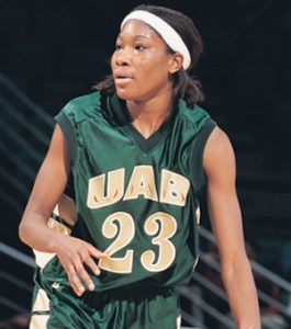 Photo courtesy of UAB Sports Jackson is ranked second all-time at UAB in points scored and average.