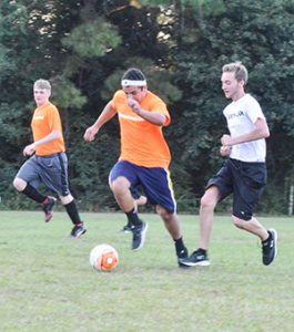 File photo Some area teens compete in a soccer league over the summer.